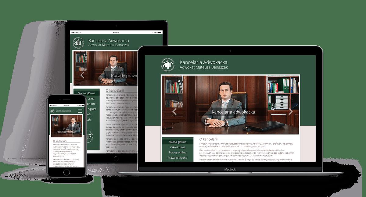 Strona internetowa - adwokatgostyn.pl